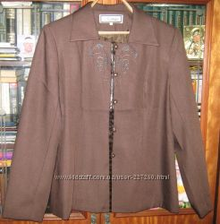 Красивый пиджак 50-52 размер