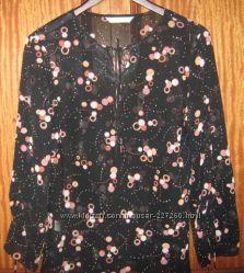 Блузка с длинным рукавом фирмы AMARANTO размер 16 европейский