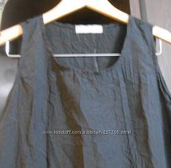 Платье черная жатка фирмы NTL размер Т1