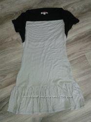 Платье с эффектом 2в1