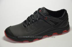 Мужские кожаные кроссовки Ecco