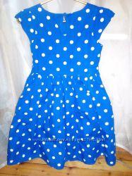 Красивое платье на 7-9 лет