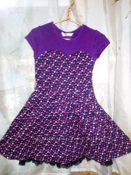 Стильное платье на 7-9 лет