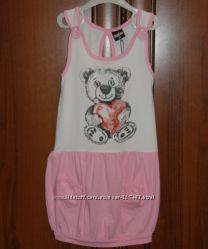 Платье-сарафан для девочки 4-5 лет, рост 110