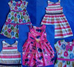 Красивые платья H&M на 5-7 лет.