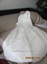 Красивое свадебное платье.