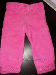 Классные вельветовые брюки для девочки