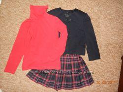 Школьная форма пиджак юбка сарафан