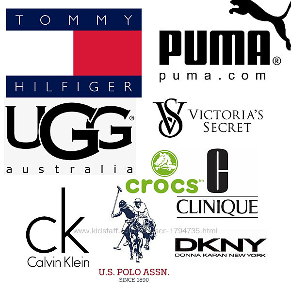 Puma Calvin Klein Tommy Ugg Crocs Gapfactory Adidas Dkny Ugg