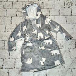 Детский халат, мягкий, плюшевый халатик 4-5 лет, primark
