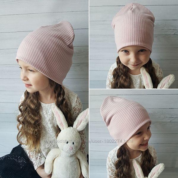 Весенние шапочки для деток разные