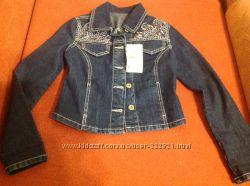 Джинсовая куртка 140см