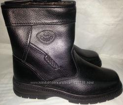 сапоги мужские кожаные зимние p41-42 GIALAS 866 черные