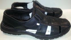 Туфли мужские летние натуральная кожа р40-46 448-001 черные