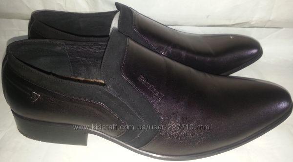 Туфли мужские кожаные p44 BANDINELLI 5524, 499 грн. Мужские туфли купить  Днепр - Kidstaff   №19299481 5314530e594