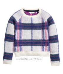 Теплый свитер HM