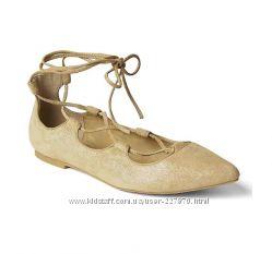 Замшевые туфли Gap