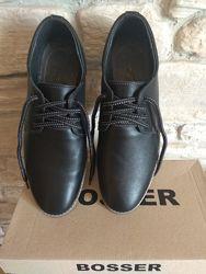 Кожаные туфли BOSSER
