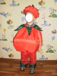 Прокат костюм помидора на возраст 2-4 года