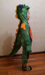прокат костюм дракона, динозавра на рост95-110см