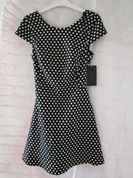 Платье Zara горох хс