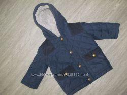 стеганная деми курточка George 6-9 и ветровка