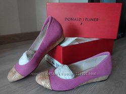 Кожаные туфли-балетки Donald J Pliner р-р 36, 5-37 стелька 23, 8 см с 6pm