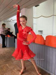 Латина юниорское бальное платье