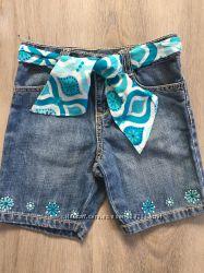 Отличные джинсовые бермуды