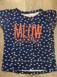 Яркие футболочки Next для девочки