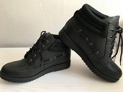 Ботинки кожаные деми Tesco