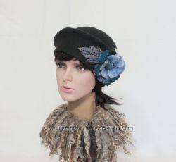 Рондо  шляпка - авторский войлок