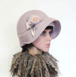 Перванш шляпка - авторский войлок