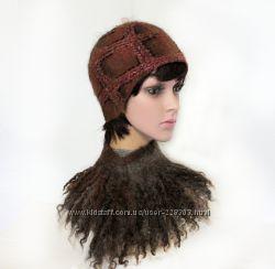 Шотландка - 1 - шапочка - авторский войлок
