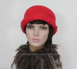 Панацея - шляпка авторский войлок 7f7d54b786f2e