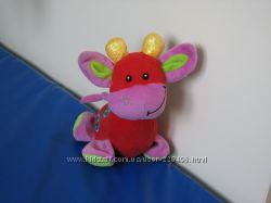 Жирафик Манчер Толо развивающая игрушка пищалка