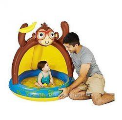 Продам новый надувной бассейн Play Day Baby Pool Monkey