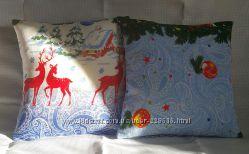 Декоротивная подушка Новый год