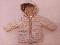 Курточка демисезонная тёплая на 80-86 см