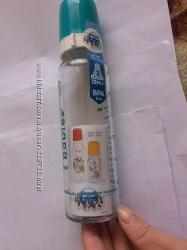 Бутылочка для кормления стеклянная 240 мл Canpol Babies