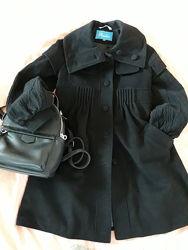 Шерстяное пальто на девочку от Raslov