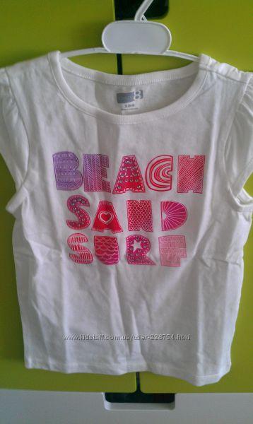 новые стильные фирменные футболки  crazy8 . р. S  и р. M стразы