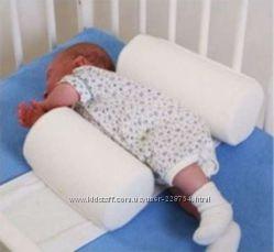 подушка валик для нововрожденного chicco sleep well с биением сердца