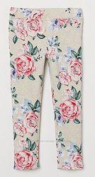 новые фирменные нарядные треггинсы H&M из Германии р134-140