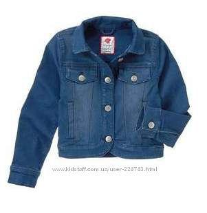 Джинсовые куртки для девочек - разные модели и размеры.