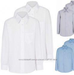 Школьные рубашки George и др. - р. 122-152