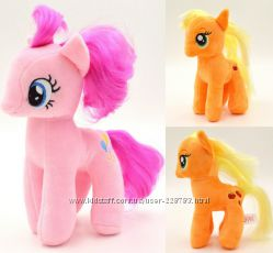 Плюшевые лошадки Пони - My Little Pony, 18см.