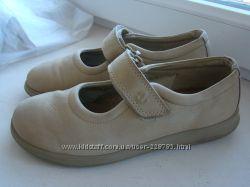 Кожаные туфли-мокасины Ecco р. 38