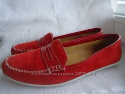 Стильные кожаные туфли-мокасины DIMARZIO 40р. Италия