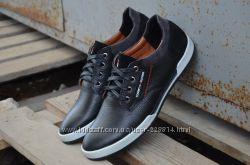 Мужские кожаные кроссовки Tommy HILFIGER. 2 цвета